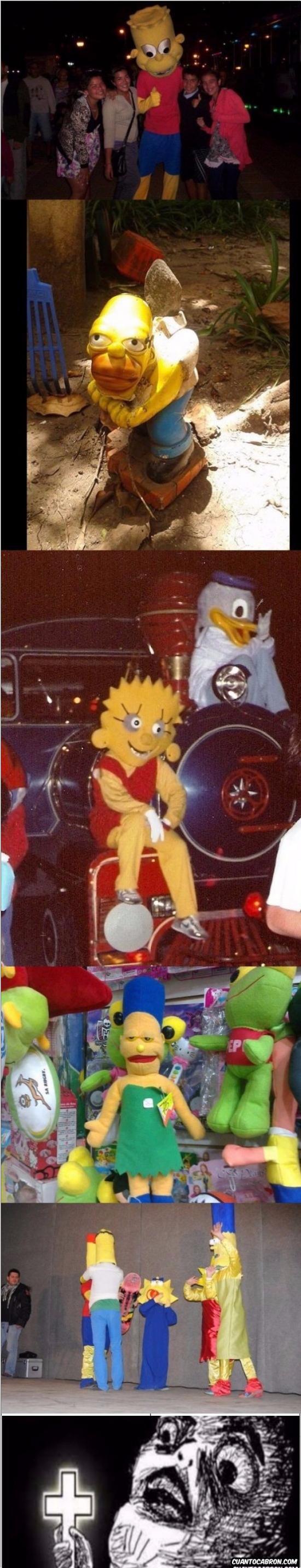 Otros - ¡¡¡Los Simpsons del terror!!!
