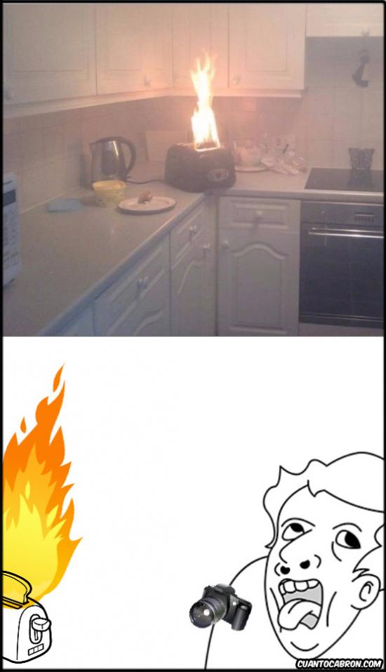 foto,fuego,genius,tostadora
