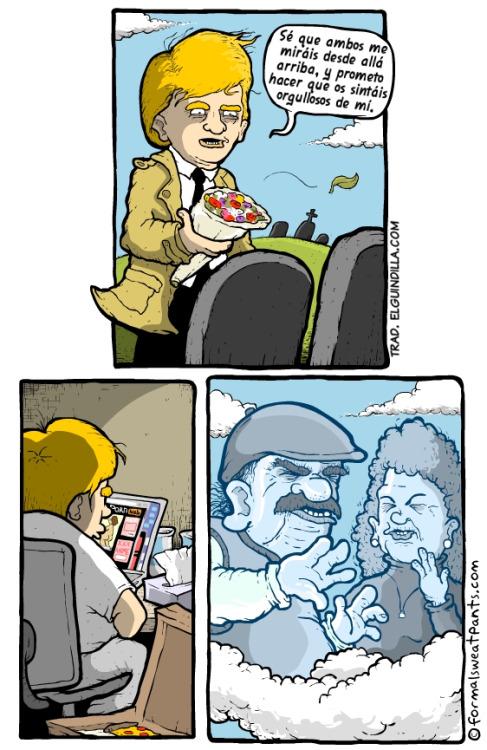 Otros - Imagina la de gente horrorizada en el cielo