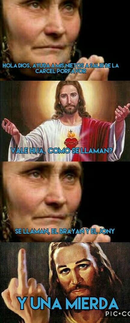 Si_claro - Dios no está para tonterias