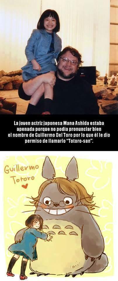 Meme_otros - Guillermo del Toro y su fan japonesa