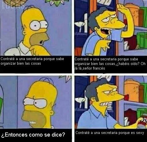 Meme_otros - Homer el empresario