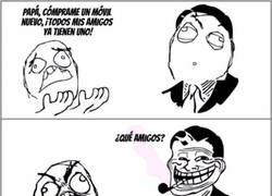 Enlace a El padre Troll contra forever alone :(