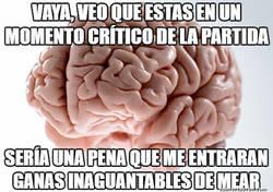 Enlace a Maldito cerebro troll...