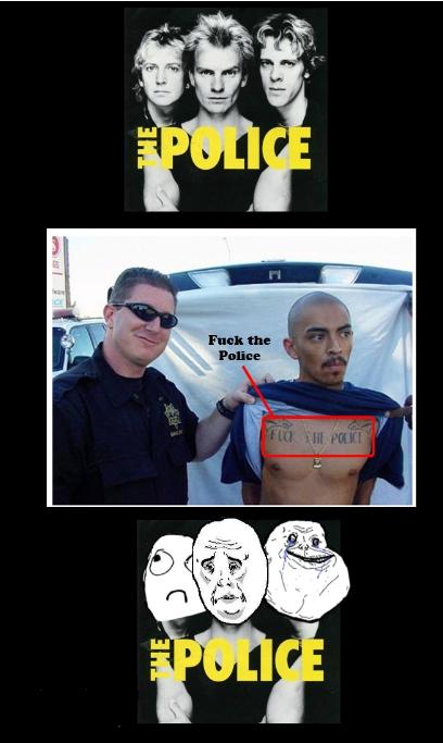 Okay - The Police despreciada..