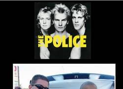 Enlace a The Police despreciada..