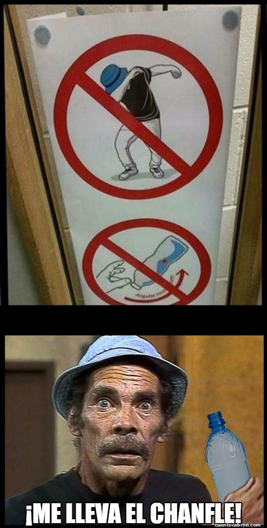 Meme_otros - Cuando te enteras que estás prohibido