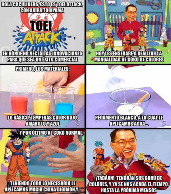Meme_otros - Y así es como se hace Dragon Ball
