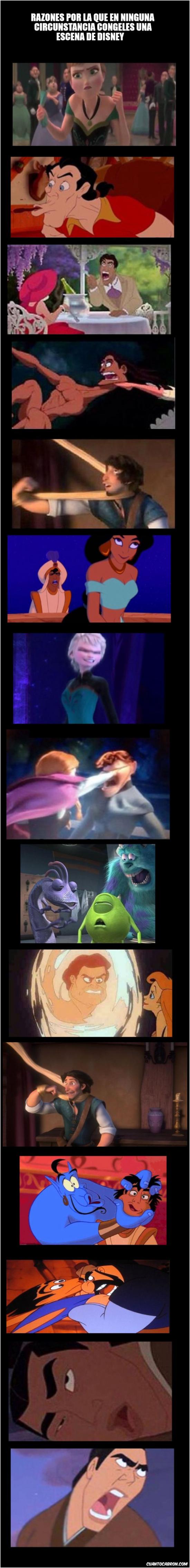 Oh_god_why - NOTA: Estas escenas pueden arruinar un poco tu infancia :)