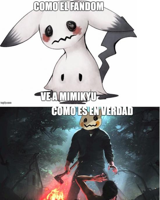 Meme_otros - El verdadero Mimikyu