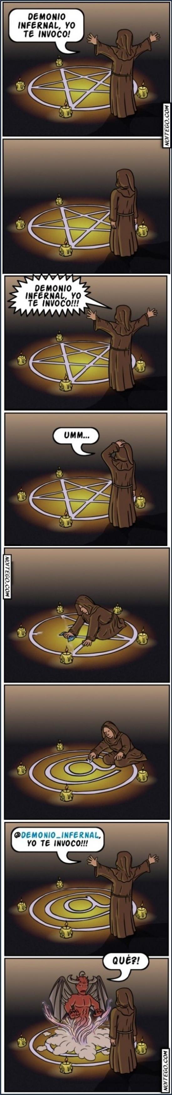 Otros - Los problemas de no saber invocar correctamente al demonio
