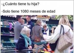 Enlace a La niña más longeva en el supermercado