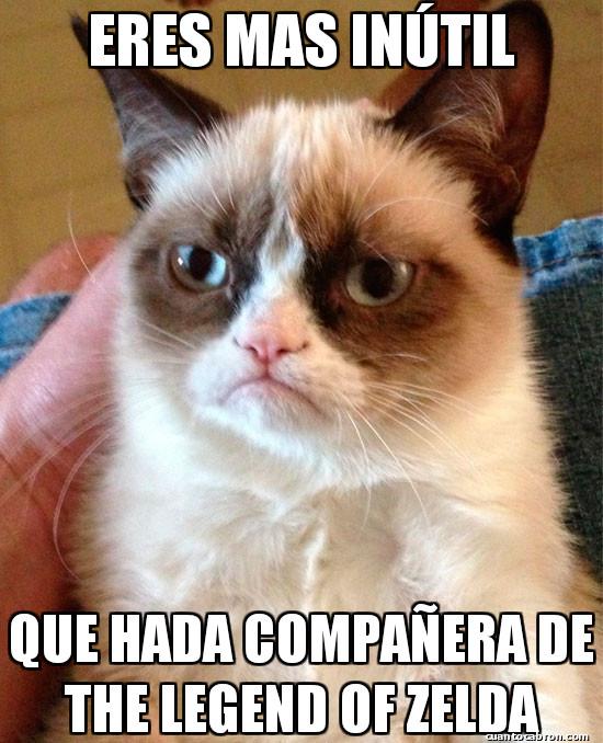 Grumpy_cat - No hay nada más inútil en la vida