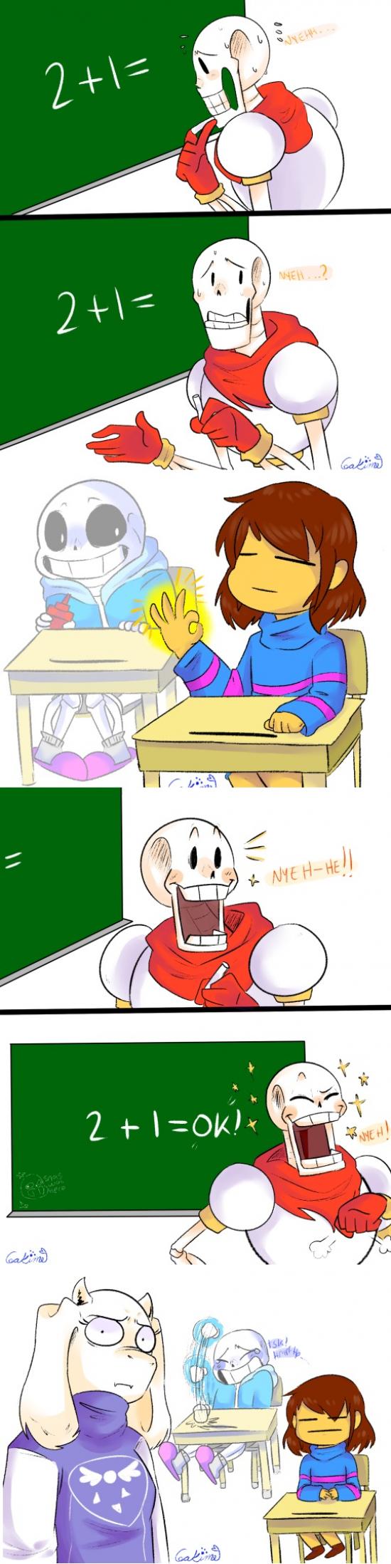 Otros - Cuando te dan la solución tus compañeros de clase