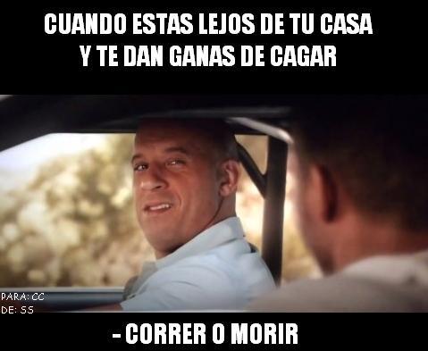 Meme_otros - Correeeeeeee, si te da tiempo...