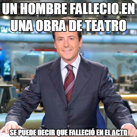 Meme_matias - La muerte en el teatro