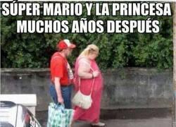 Enlace a Mario y Peach 30 años después