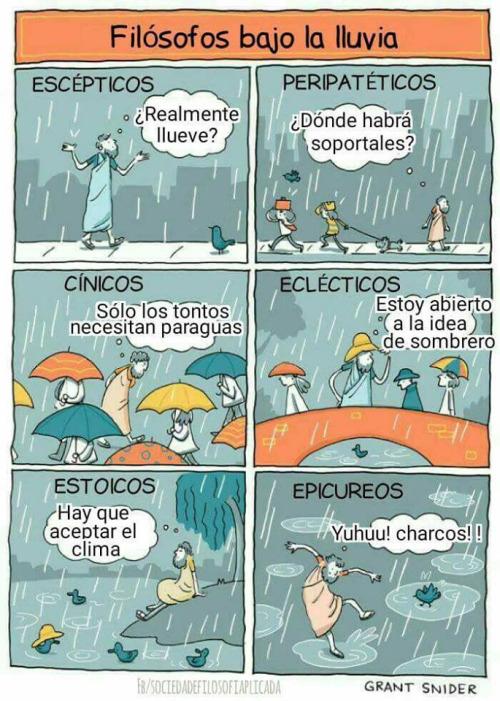 Otros - Diferentes puntos de vista cuando llueve