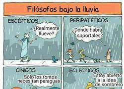 Enlace a Diferentes puntos de vista cuando llueve