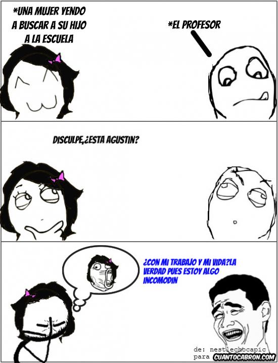 Yao - Pobre Agustín...