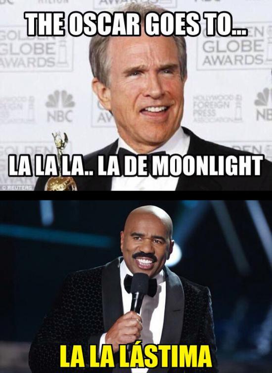 Meme_otros - Error histórico en Los Oscar dando el premio equivocada a mejor película