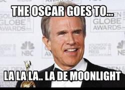 Enlace a Error histórico en Los Oscar dando el premio equivocada a mejor película
