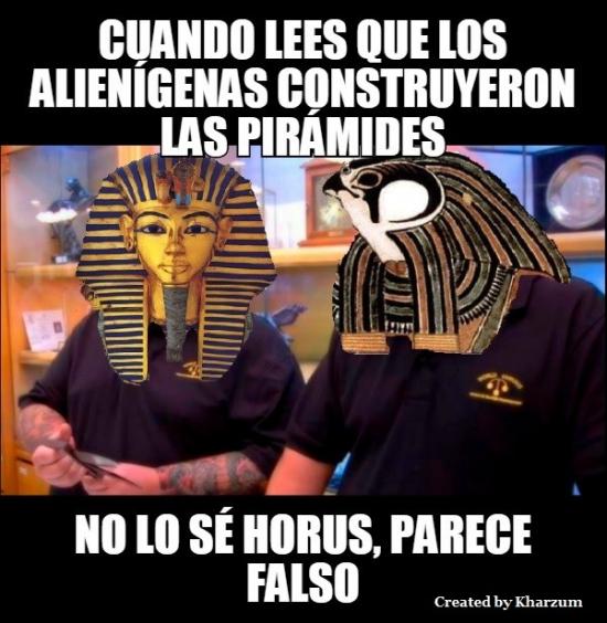 Parece_falso - ¿Construyeron los extraterrestres las pirámides?