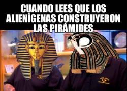 Enlace a ¿Construyeron los extraterrestres las pirámides?
