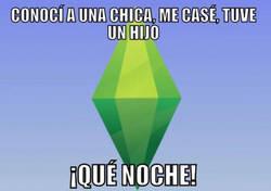 Enlace a Los Sims te dan una felicidad plena