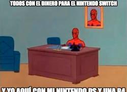 Enlace a No todos tenemos dinero para disfrutar de la Switch...