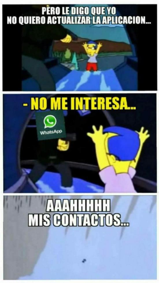 Meme_otros - El problema que tenemos con el nuevo Whatsapp
