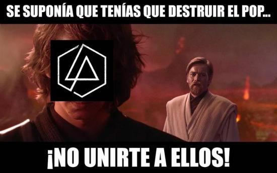 Meme_otros - Linkin Park nos ha fallado...