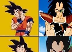 Enlace a Goku sabe bien que rival prefiere