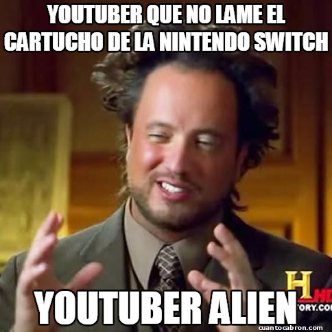 Ancient_aliens - Youtuber sin lógica