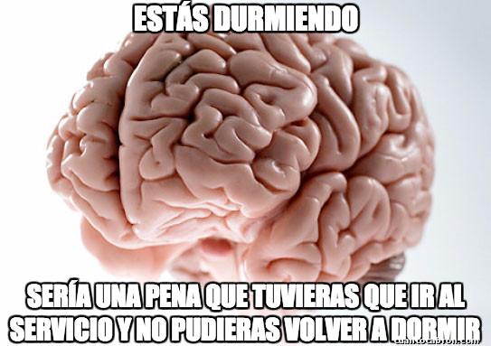 Cerebro_troll - El cerebro es un gran troll al despertarte
