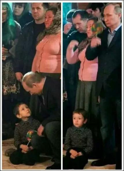El_hombre_mas_interesante_del_mundo - En serio, es Vladimir... robando a un niño