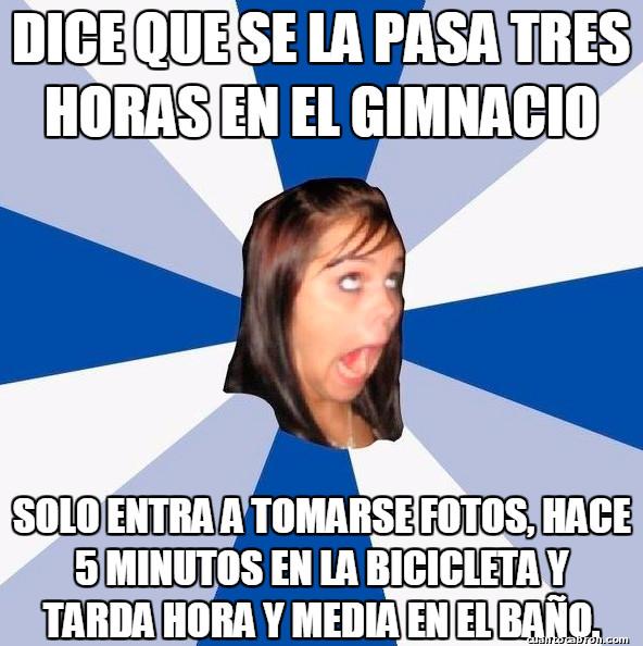 Amiga_facebook_molesta - Algunas chicas en el gimnasio son así