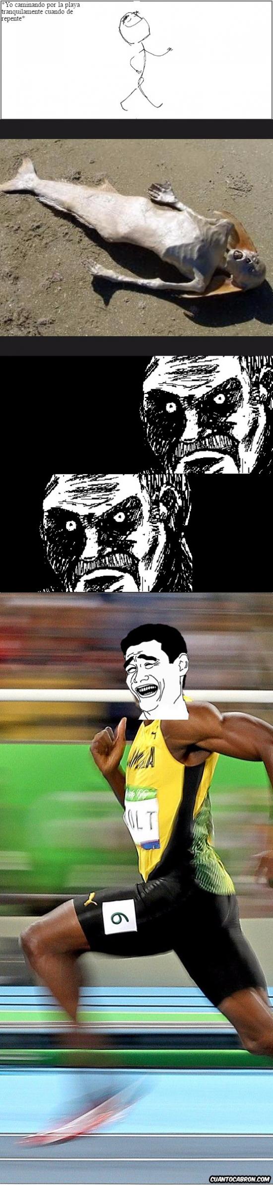 Yao - No tengo miedo... ¡CORRE!