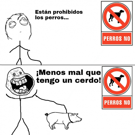 Forever_alone - Animales permitidos