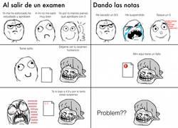 Enlace a Un gran problema en un examen