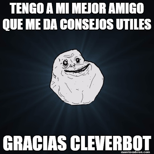 Meme_forever_alone - Una vida muy triste...