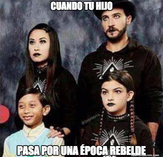 Meme_otros - El rarito de la familia
