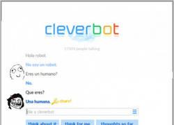 Enlace a Cuando te trollean hasta en el Cleverbot