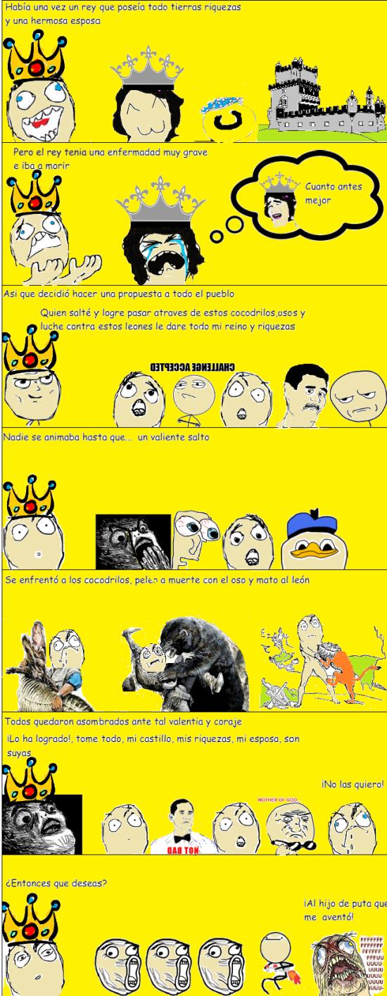Ffffuuuuuuuuuu - La apuesta de un rey