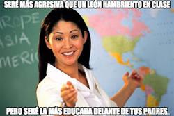 Enlace a Una profesora odiosa