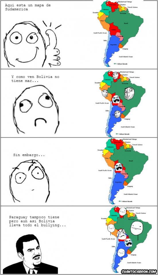Otros - El bullying con Bolivia