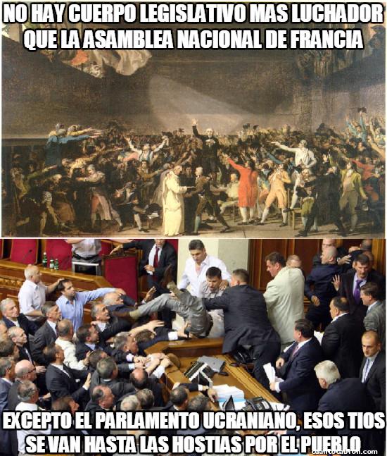 Meme_otros - Los representantes del pueblo...luchando por el pueblo a su manera