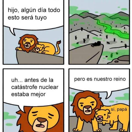 Otros - El Rey León versión postapocalíptica
