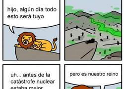 Enlace a El Rey León versión postapocalíptica