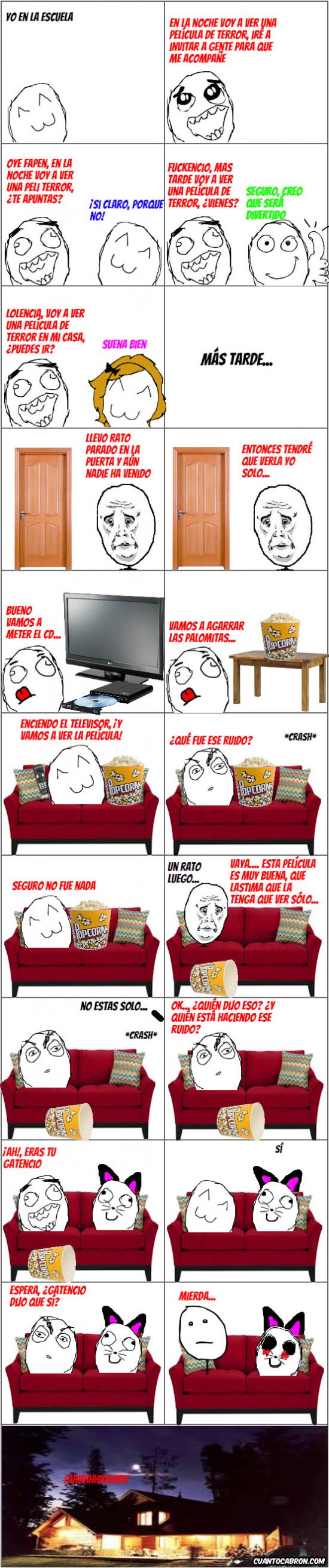 Pokerface - Una película de terror solo en casa